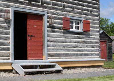 Fort Ingall - Intendance