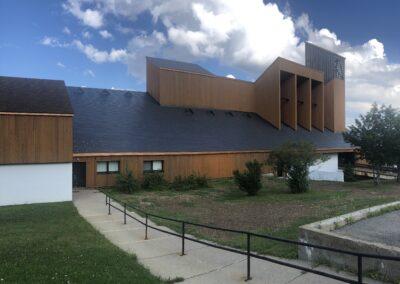 Cathédrale Gaspé - résultat final